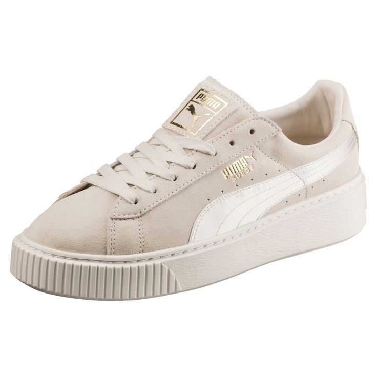 PUMA Women's Shoes - Basket Suede Platform Satin pour femme - Find deals and best selling products for PUMA Shoes for Women