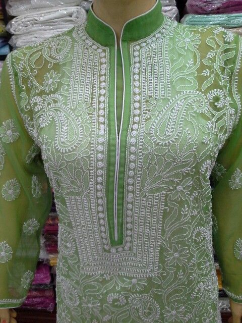 Hand embroidery Tunic  [*Sfq*]