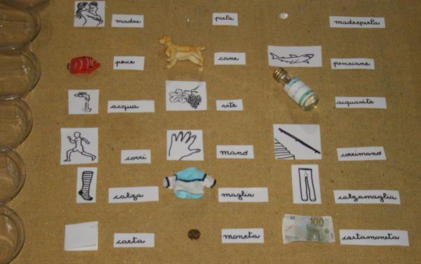 parole composte Montessori 6