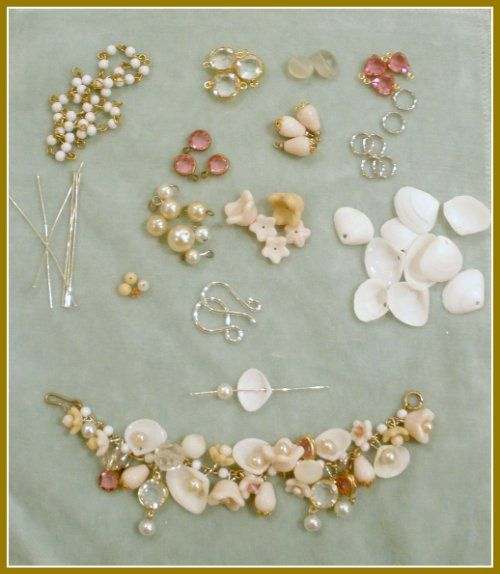 Make Your Own Seashell Jewelry: 910 Best Images About Handmade Jewelry On Pinterest