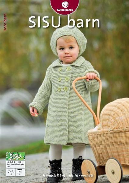 1001: Modell 1 Kåpe i rillestrikk #strikk #knit #sisu