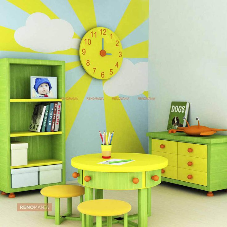17 best Kids Room Wall Design images on Pinterest | Kid bedrooms ...