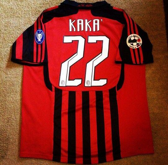 ADIDAS AC Milan KAKA 2007-2008 Soccer Jersey