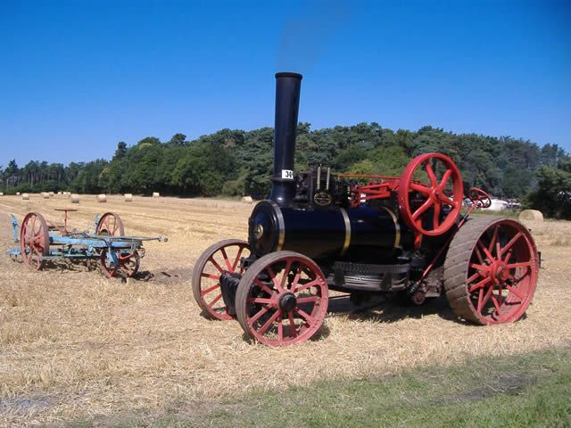 """Burrell Ploughing Engine, 777 """"The Earl"""", Image 7 - Steam Scenes"""