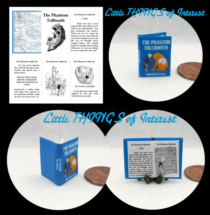 how to make readable miniature books