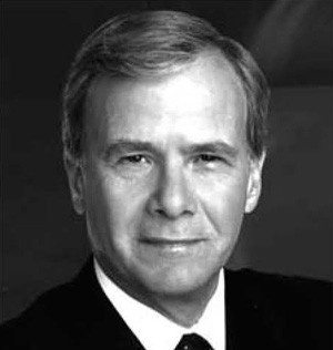 Tom Brokaw (Yes, really. He is my favorite journalist and my first journalist crush. :D)