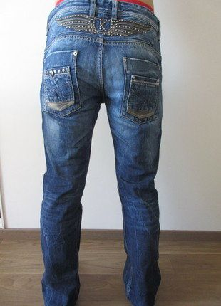 À vendre sur #vintedfrance ! http://www.vinted.fr/mode-hommes/jeans/18442672-jean-kaporal-delave-avec-logo-kaki-taille-us31