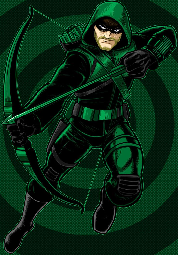 зеленая стрела арты должна стеснять