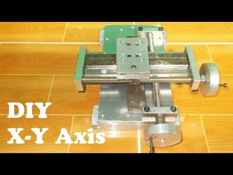 Homemade Vertical Milling Machine DIY XY Axis Tailstock Lathe Router Wood Slide CNC Drill Metal Mill - YouTube