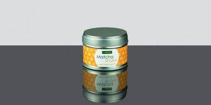 Matcha Shake Mango, Té verde molido con aroma de mango lleno de antioxidantes