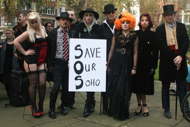 Soho club Madame Jojo's closed down, and regulars have started petitions to save the city centre from further regeneration.
