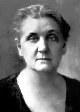Jane Addams, pioneer American social worker and feminist, and the FIRST woman to be awarded the Nobel Prize in 1931.