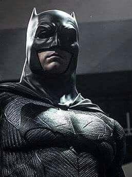 Ben Affleck as BATMAN.