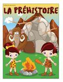 Programmation sur le thème de la préhistoire avec des activités éducatives; jeux, bricolages, coloriages, histoires, comptines, chansons, fiches d'activités imprimables.