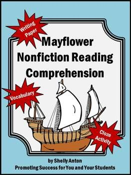 Mayflower Reading Comprehension, Thanksgiving Activities ...