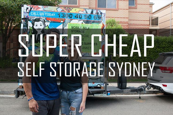 If you need extra space for a reasonable price, super cheap self storage Sydney is what you're looking for!