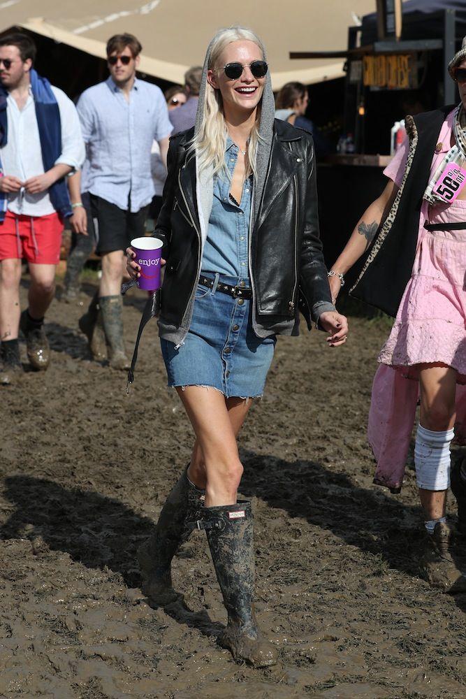 Poppy Delevingne, Glastonbury 2016