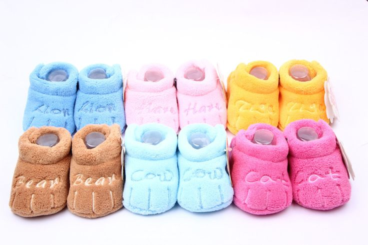 Winter Warm Snow Shoes Toddler Boys Girls Unisex Skid-proof Soft Sole Baby Cotton Shoes alishoppbrasil