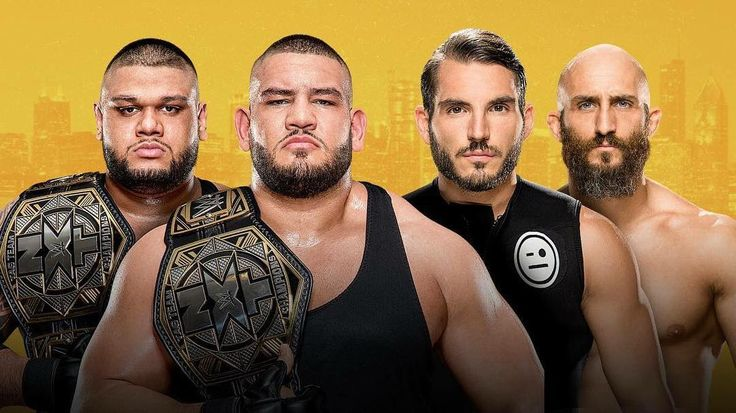 For the #NXTTagTeamChampionship in a #LadderMatch #AuthorsofPain (@akamwwe and @rezarwwe) vs #DIY (@thetommasociampa and @thejohnnygargano) . Look out for this thumbnail for the #ProWrestlingZone covering #NXTTakeoverChicago on @youtube!  http://www.youtube.com/tigerhite  . . . #prowrestling #pro #wrestling #wrestlemania #wrestler #mma #fight #mixedmartialarts #fighting #fighter #youtube #utube #youtubers #youtuber #channel #WWE #WWENXT #NXT #NXTTakeover #NXTChicago @wwe @wwenxt @wwenetwork…