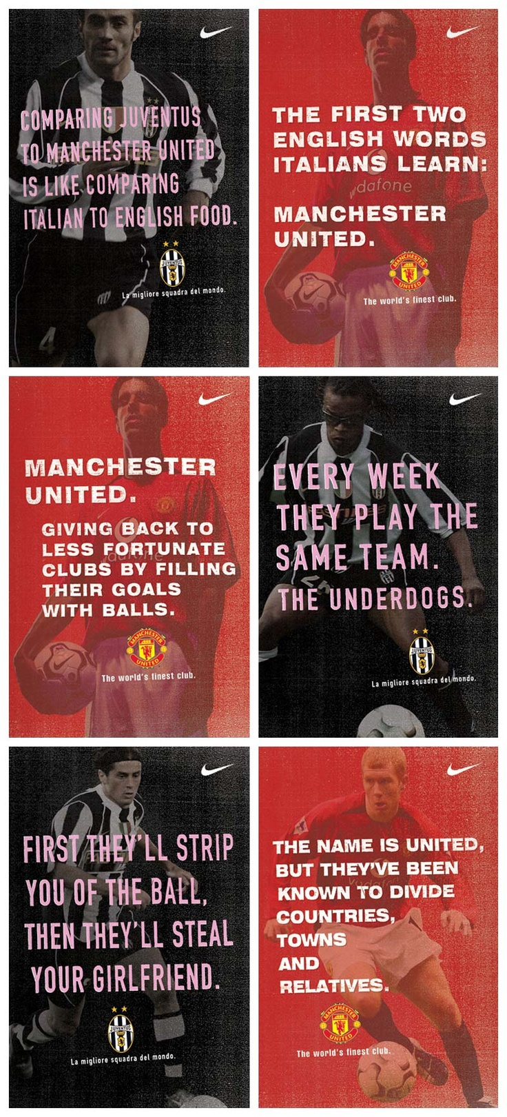 Nike posters by #Creature in Seattle/UK