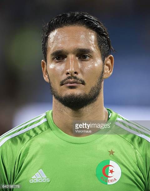 CADAMURO of Algeria during the Group B match between Senegal and Algeria at Stade Franceville on January 23 2017 in Franceville Gabon