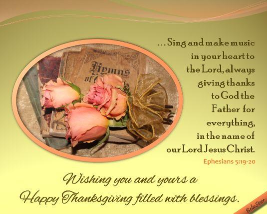 #Thanksgiving www.123greetings.com/profile/bebestarr #scripture
