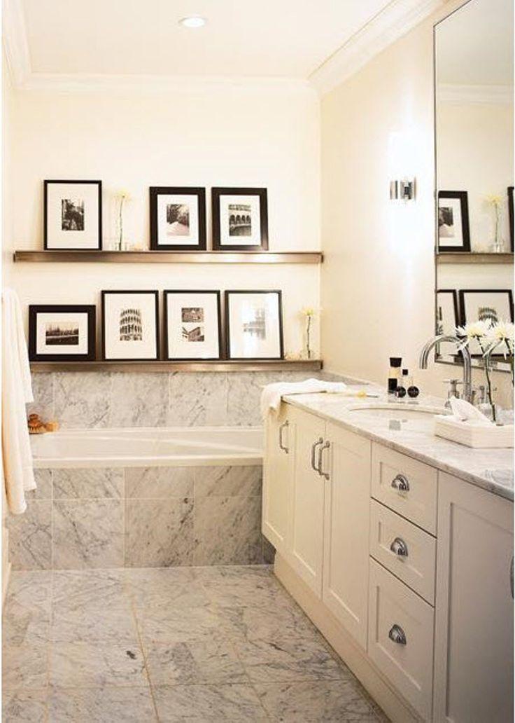 Bathroom Framed Wall Decor: 107 Best Images About Master Bathroom Ideas On Pinterest