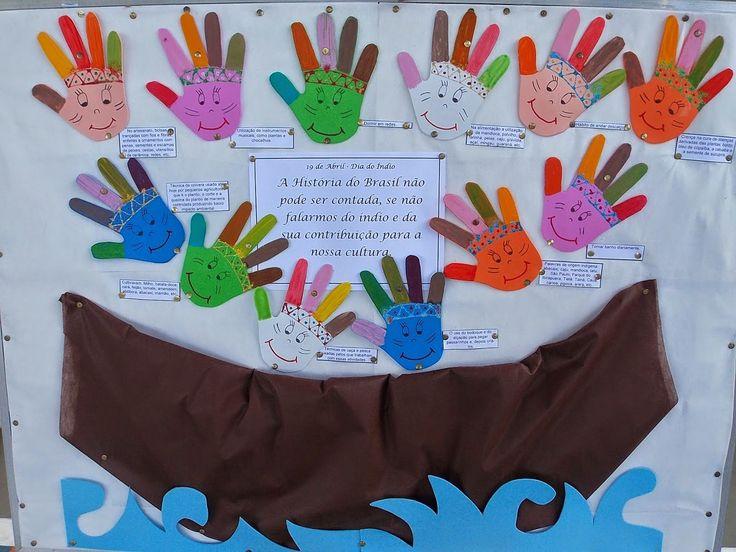 Ensinando com Carinho: Especial dia do índio