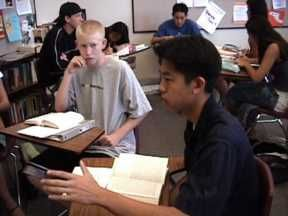Pointers on literature circles - specific to high school. Thank goodness! I know they can be better...