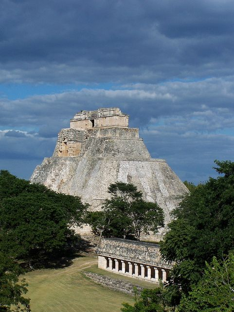 Uxmal  Yucatan  Mexico ~ Uxmal is an ancient Maya city of the classical period in present-day Mexico. It is considered one of the most important archaeological sites of Maya culture, along with Palenque, Chichén, and Calakmul.