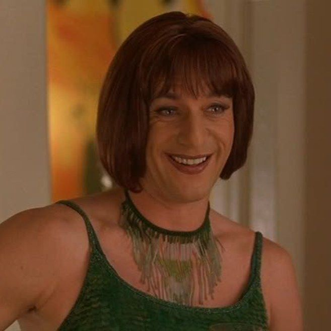 Jason Isaacs in Sweet November (2001) | 29 Male Celebs Who Looked Absolutely Flawless In Drag
