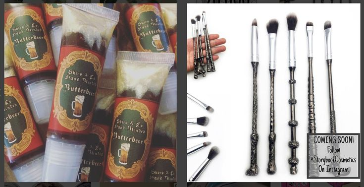 Luvassa+taianomaisia+meikkihetkiä+–+Harry+Potter+-meikit+ja+taikasauvamaiset+sudit+ihastuttavat