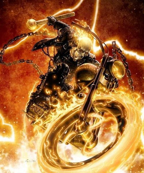 Ghost Rider!! Follow for more content from Comic's Greats!