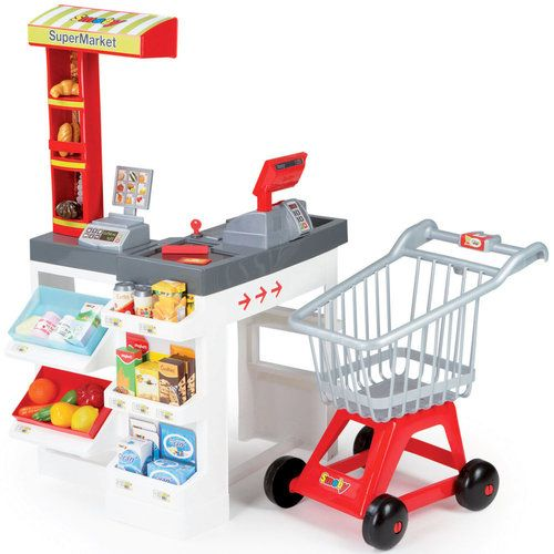 Smoby Supermarket Mateo Kids Play Store Buy Toys
