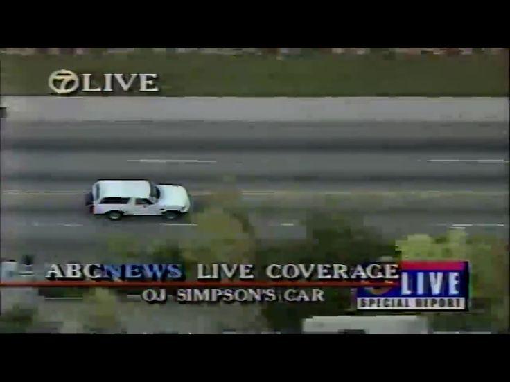 OJ Simpson car chase