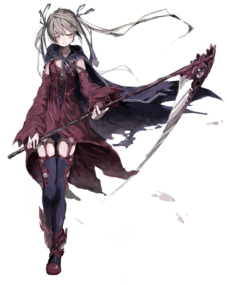 i did not know were to put this but i am pretty sure that it maka from soul eater commit if you think it someone else or if you think i should put it on another board thank