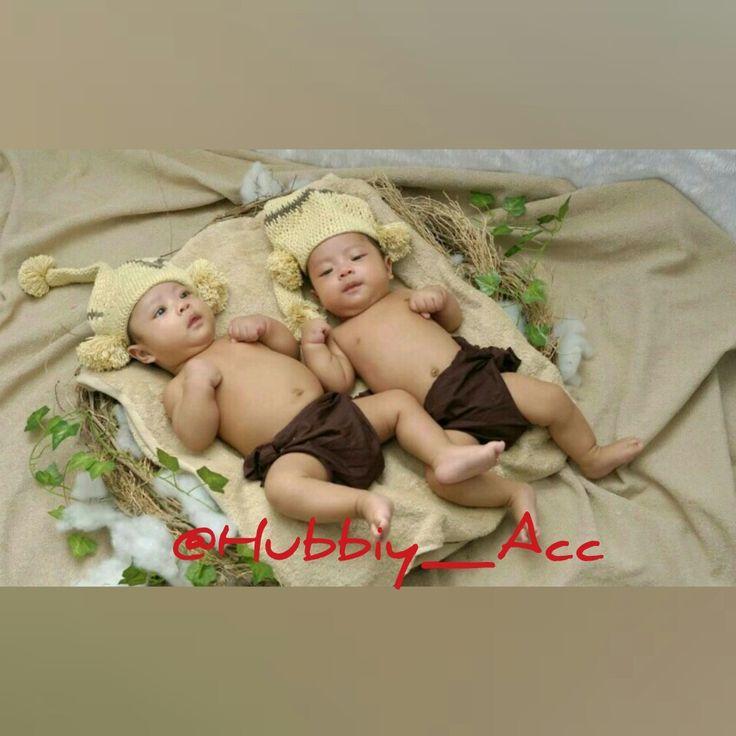 Twin baby boy - Hat Crochet - Hubbiy Accessories