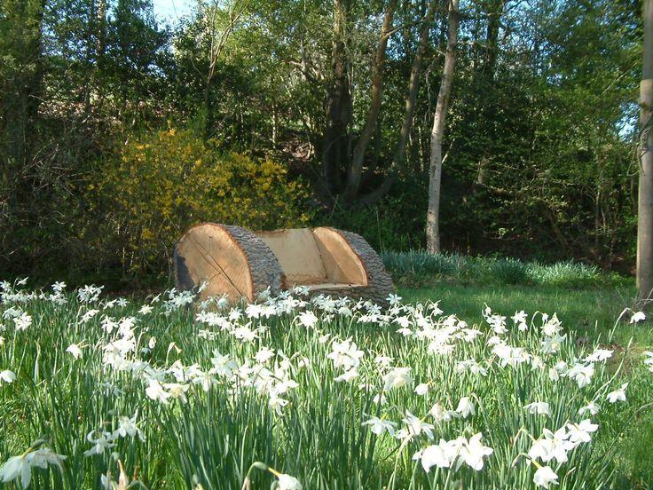 garden seat by craftywoodart.co.uk