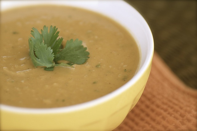 North African Inspired Sweet Potato, Peanut Butter, and Paprika Soup ...