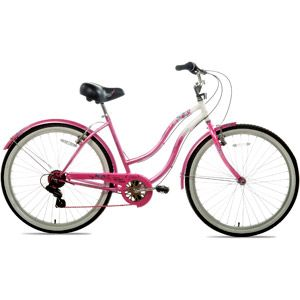 """26"""" Susan G. Komen, Cruiser Multi-Speed, Women's  Bike, Pink/Silver                                                           I think this would be a nice Mother's Day gift."""