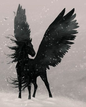More inspiration for the shadow mare. Poor thing/ack, run away!  FOREST OF SHADOWS DEAD BOY CHRONICLES
