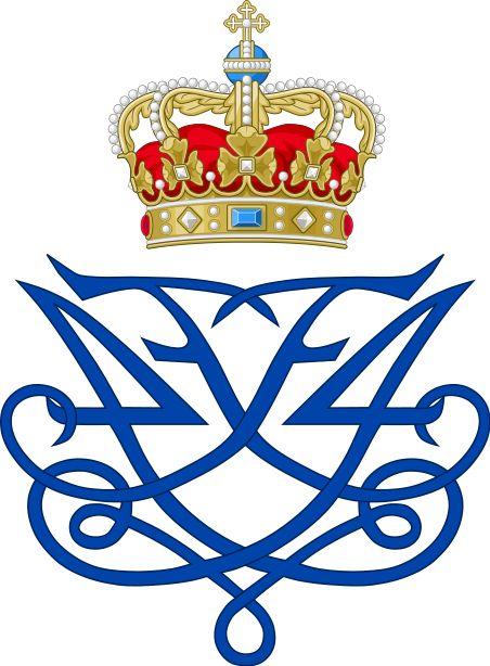 Royal Monogram of King Frederik IV of Denmark