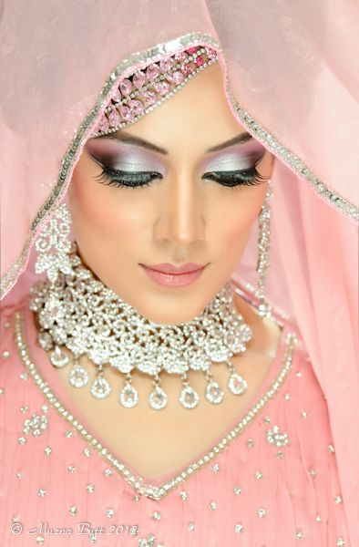 Hair and Makeup by Gulnaz Akhtar Model is Prabjot Photograph y and Retouching by Muzna Butt