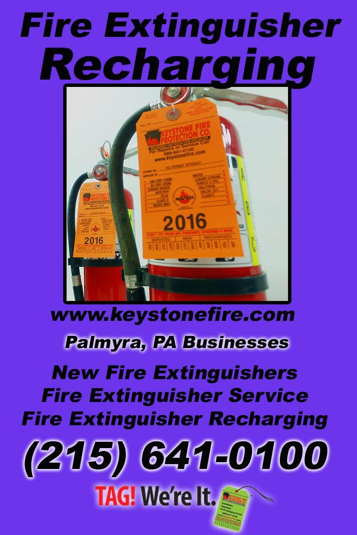 Fire Extinguisher Recharging Palmyra, PA (215) 6410100