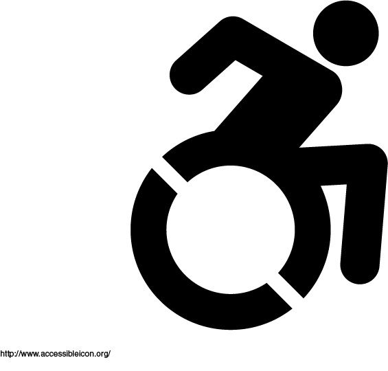 17 Best images about The Church and People with ... Handicap Logo Redesign