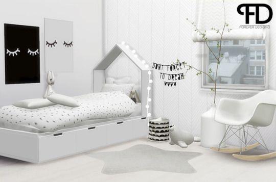 Foreverdesigns Toddlers Diy Kleinkind Möbel Sims 4 Cc