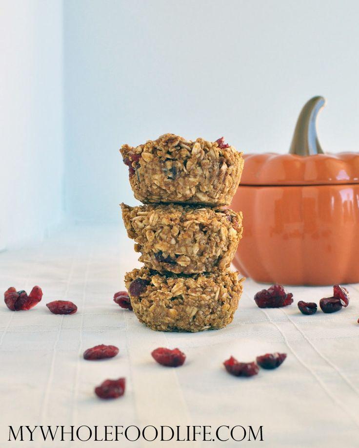 Flourless Pumpkin Muffins - My Whole Food Life