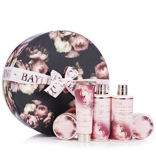 Baylis & Harding Hat Box Bath & Body Gift Set order online at QVCUK.com