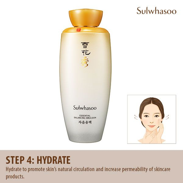 #Skincare Routine Step 4: #Hydrate to promote skin's natural #circulation and increase permeability of skincare products.
