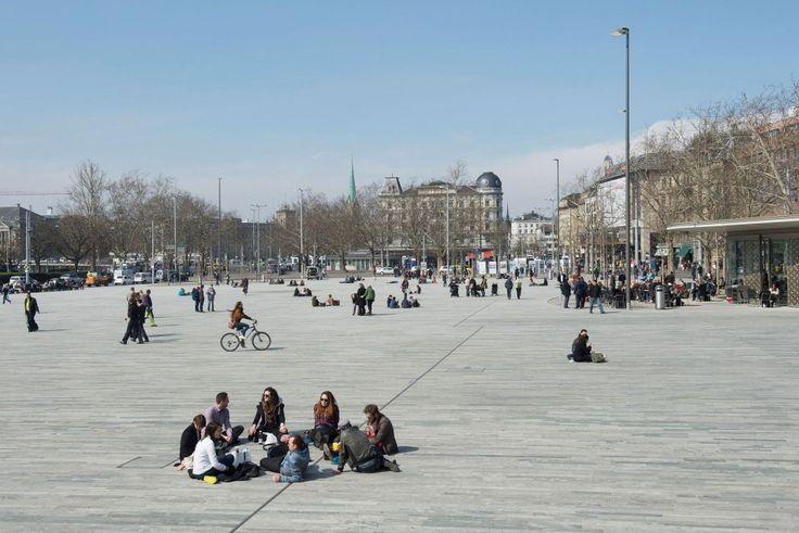 Sechseläutenplatz, Zürich | vetschpartner Landschaftsarchitekten AG